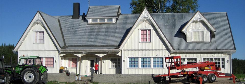 Valkoinen talo -kuva