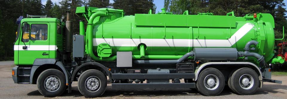 Vihreä auto -kuva